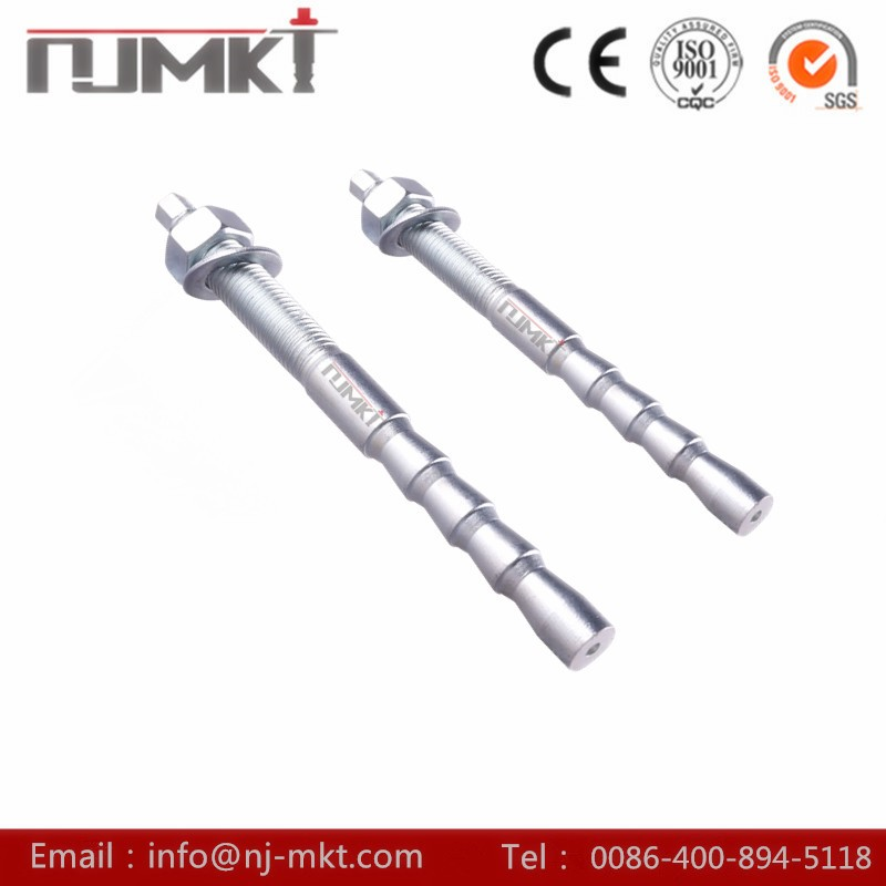 NJMKT Manufacturing factory heavy duty wedge type expansion anchor supplierwith metro