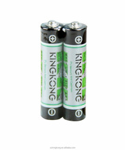 AAA UM4 R03P 1.5V zinc carbon dry battery diachargr time with 35mins