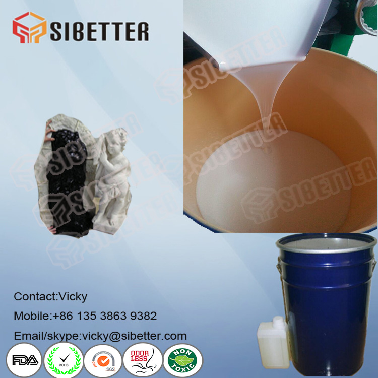 High Quality Liquid Silicone Rubber for Plaster Statue Moulds