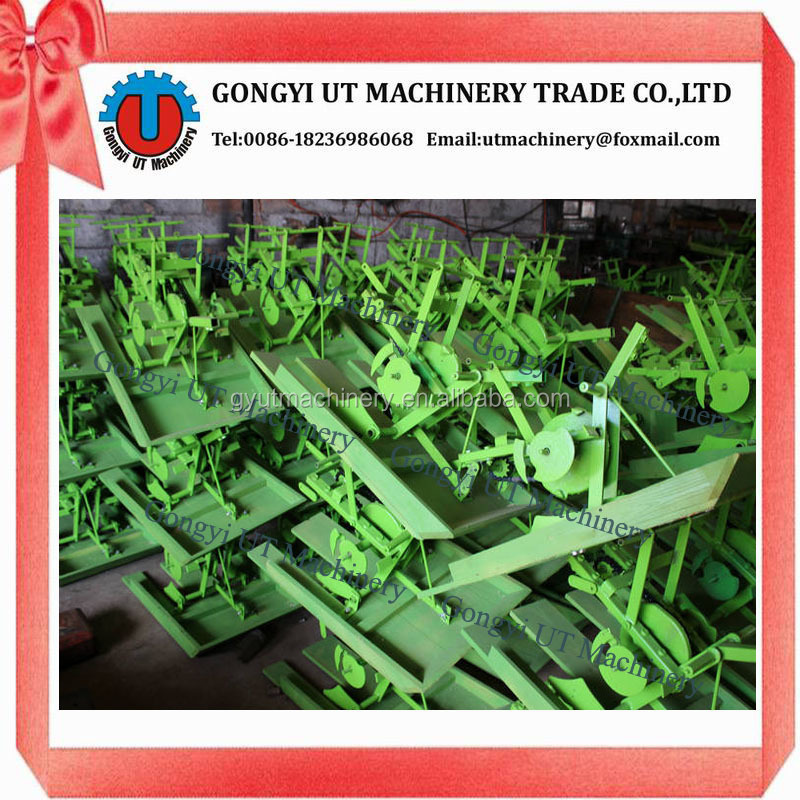 Manual Portable 2 Rows Paddy Rice Transplanter Rice Planting Machine