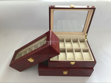 top quality multiple grids swiss market wooden watch box