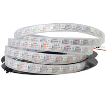 DC 5V WS2812 5050 RGB 30 60 90 144 Lamp Beads Full Color Conventional Built-in Chip LED Light Strip