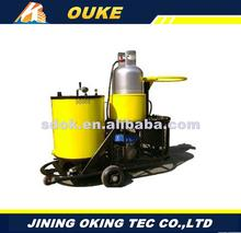 OKGF-50 asphalt curb machine,truck mounted asphalt road crack sealing machine