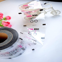 clear mylar film roll/plastic roll film/plastic cup sealing roll film