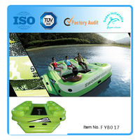New Giant 6 Person Inflatable floating Island in stock