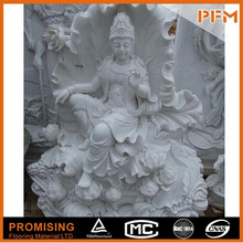 well polished wholesale hand carved Chinese natural stone Buddhism goddess GuanYin Buddha sculpture