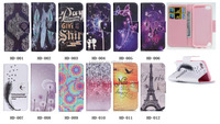 Eiffel Tower Print PU Leather Flip Case for Apple iPod Touch 5 5th generation