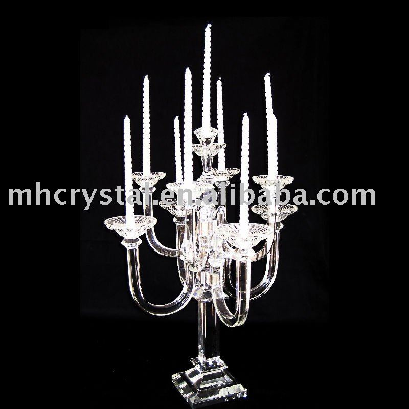 Crystal Standing Candelabra for Wedding MH-Z0003