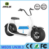 2016 new 800w 60V 2 wheel citycoco electric bike/scooter/motorcycle