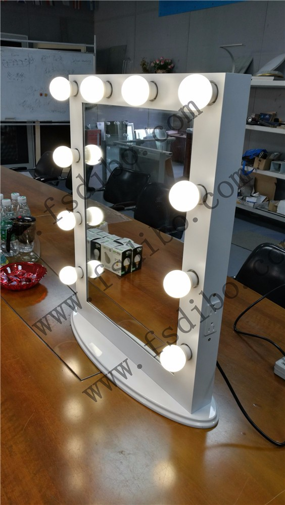 hollywood mirror with light bulbs vanity mirror light