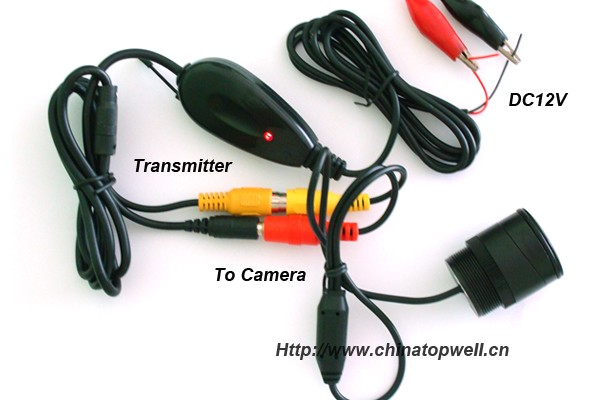 7 inch 2.4 G intergrated transmiter and revceiver 420 TVL camera kit