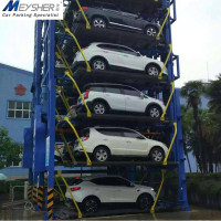 world-class automated car parking equipment vertical rotary parking system multilevel parking