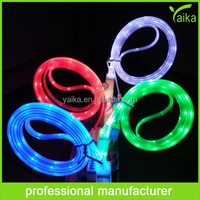 shenzhen factory flat led usb cable charger for samsung android mobile phone