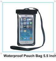 Underwater PVC Mobile Phone Waterproof Pouch Case Cover Diving Bag for iphone 6 Plus