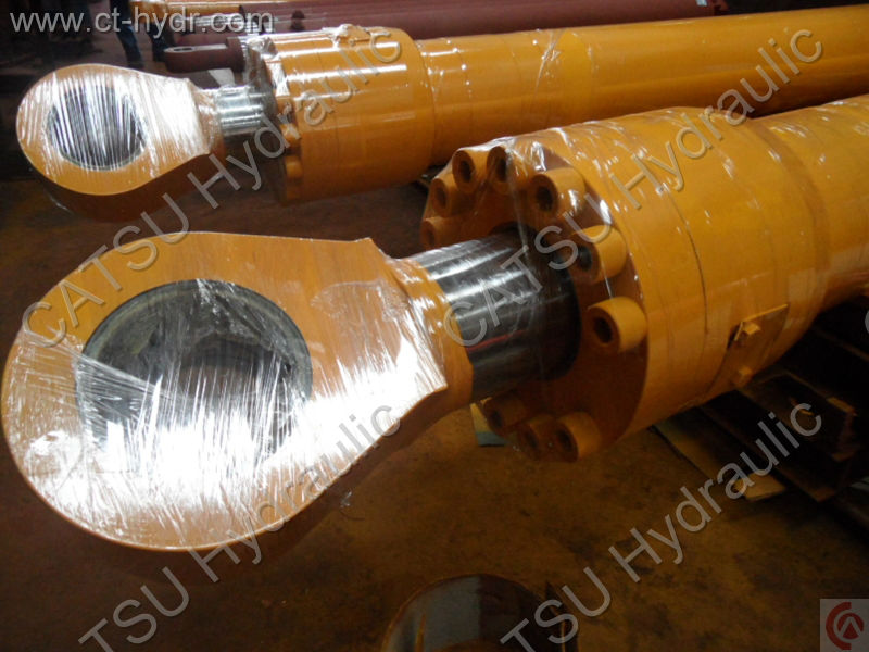 Largest factory in Guangdong supplied excavator hydraulic cylinder