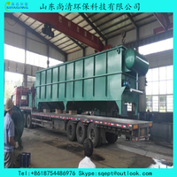 20cbm/hr. leather factory wastewater treatment plant, high remove rate of Suspended Solids, BOD, COD