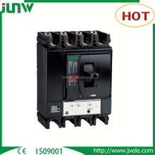 Junw Manufacturer quality MCCB Hot sale 100A 250A 400A high breaking capacity electric moulded case circuit breaker low price