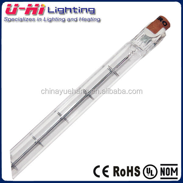 halogen tungsten lamp 118mm 220v 300w