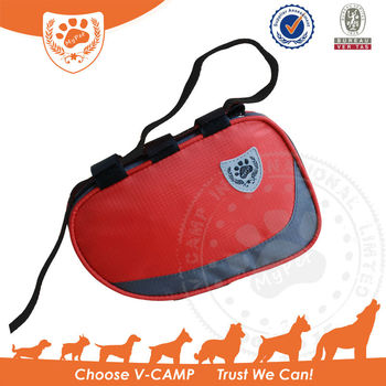 My Pet convinient high visibility Dog Backpack with velcro straps