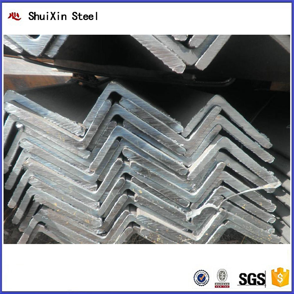 Best saler hot rolled unequal angel bar with grade ASTM steel angle in size 63*40*4mm for construction material