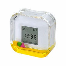 promotional Aqua Colorful Clock wholesale gift items