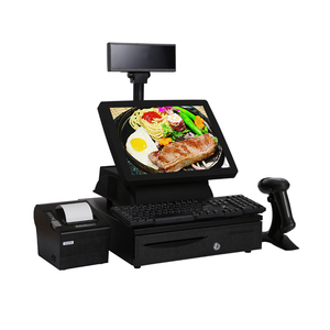 OEM Factory Restaurant Touchscreen Cash Register With Scanner