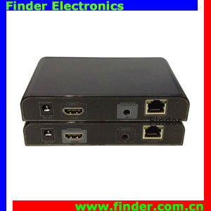 HDMI & Remote IR Extender and Splitter by Single CAT5e or CAT6 UTP Cable 100-120m or Unlimited Distance Over Router under TCP/IP