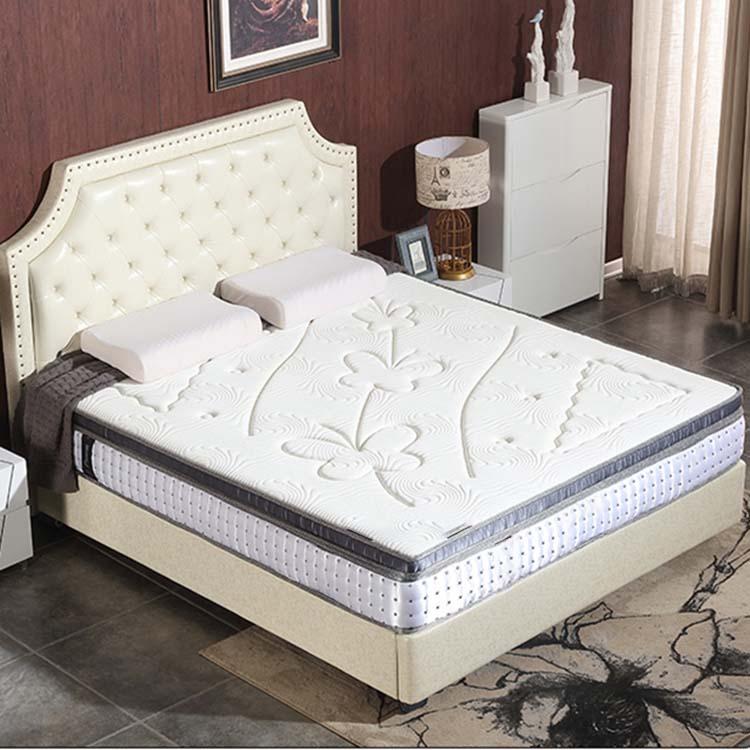 Customized design OEM/ODM 12 Inch Comfortable gel infused memory foam 7 zoned pocket spring mattress - Jozy Mattress | Jozy.net