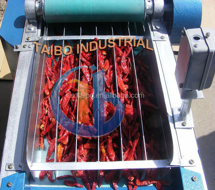 Chili ring cutting equipment / red pepper stem cutter factory price