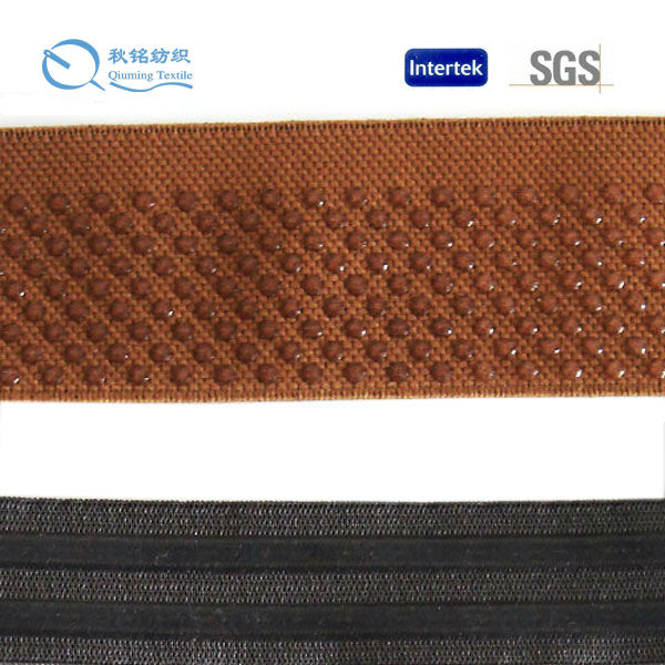 Customized printed silicone elastic ribbon for underwear