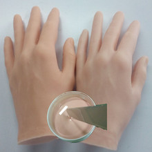 Fake Human Skin Liquid Silicone Rubber for Artificial Limb Parts