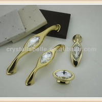 Top Quality Crystal Drop Pull Handle