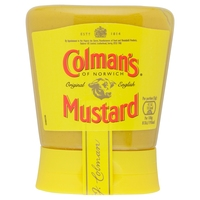 Hot Sale Colman's English Squeezable Mustard