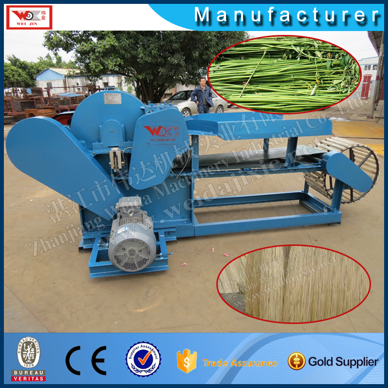 Professional Hemp Peeling Machine/Flax Fiber Machine/Flax Strip Extracting Machine
