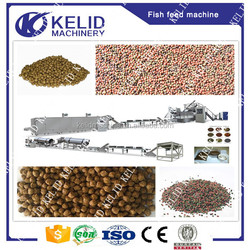 China supplier floating fish feed pellet extrusion machine