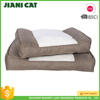 hot wholesale non slip canvas memory foam pet bed,dog cushion pet bed