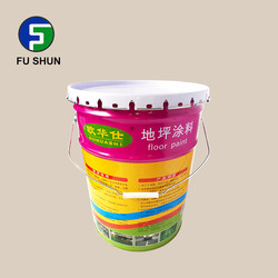 New design acrylic paint bucket with lid for paint