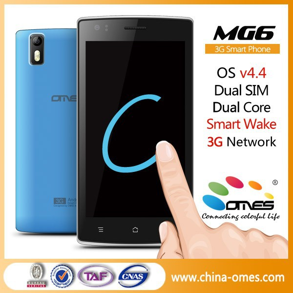 "Customized Brand OK OMES MG6 5 inch 5"" Cheap Price Dual Sim 3G android smartphone unlock"