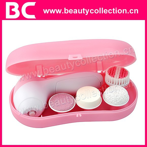 BC-0612 4-in-1 Electric Face and Body Brush Spa