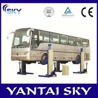 Popular CE proved auto truck$bus lift heavy duty lift 4 post truck hoist