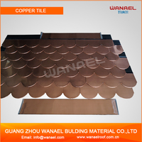 China products Wanael Copper Fish Scale Roof Shingles