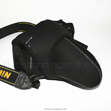 L size Soft easy cover camera case for Canon Nikon Pentax Sony