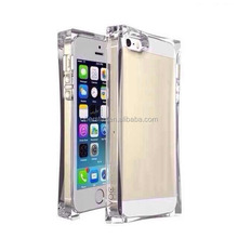 for Apple iPhone 5 5S Ice Crystal Hard Case with Free Screen Protect