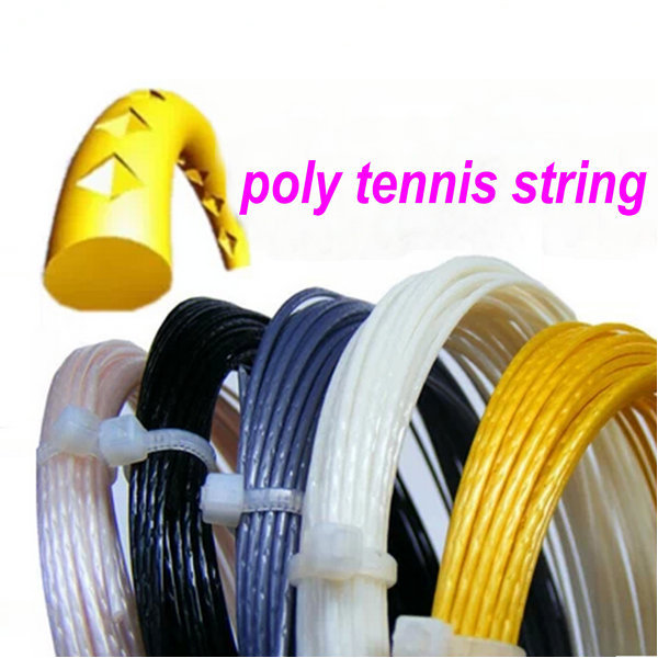Tennis string rhombus cut