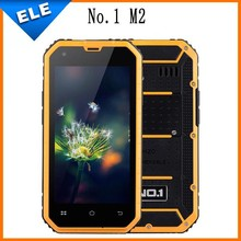 Original NO.1 M2 Rugged Waterproof IP68 MTK6582 Quad Core 4.5'' Android 5.0 1GB RAM 8GB ROM 13MP Dustproof Mobile Phone