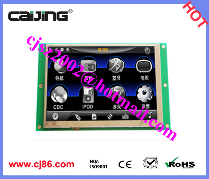 RS485 rs232 TTL interface 4.3 inch tft lcd <strong>module</strong>