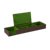 Green new design rectangular stationery holder for student