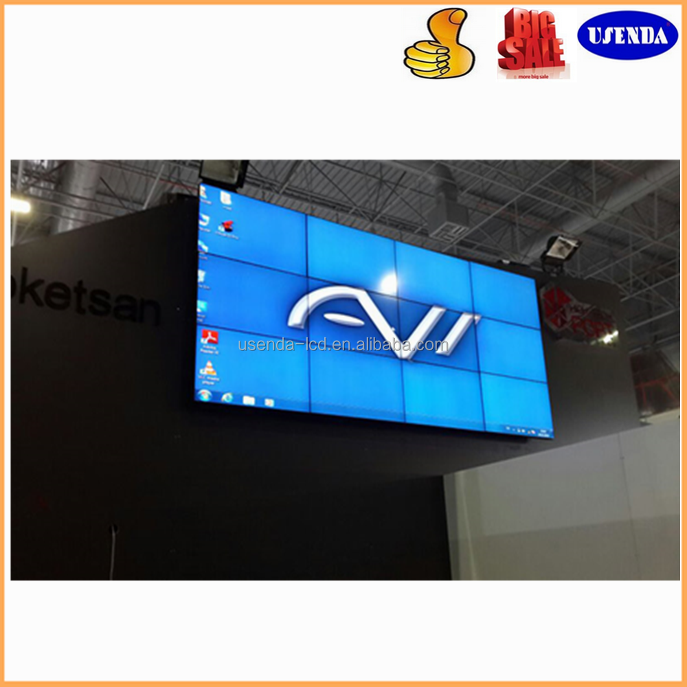 46inch 5.3mm shop DID multi panel tv wall, super narrow bezel video wall, digital signage advertising video wall