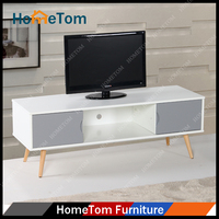 Modern Cheap New Model Corner Wood LCD TV Stand Design