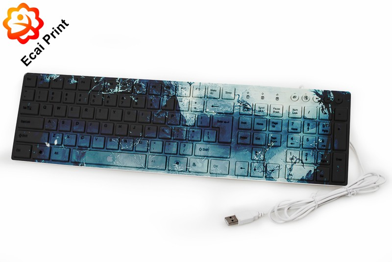Latest creative printed sublimated computer keyboard